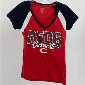 Official Cincinnati Reds T Shirt Small